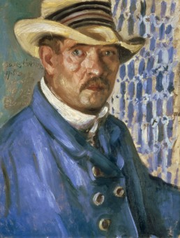 Lovis Corinth, Self Portrait with Model