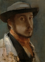 Edgar Dega Self Portrait