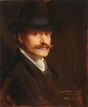 Philip de László, Self Portrait