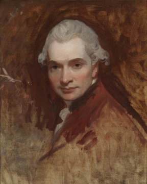 George Romney, Self Portrait