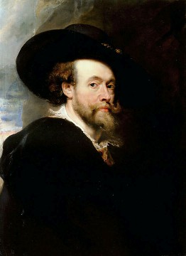 Peter Paul Rubens, Self Portrait
